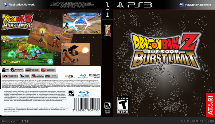 Dragon Ball Z: Burst Limit box art cover