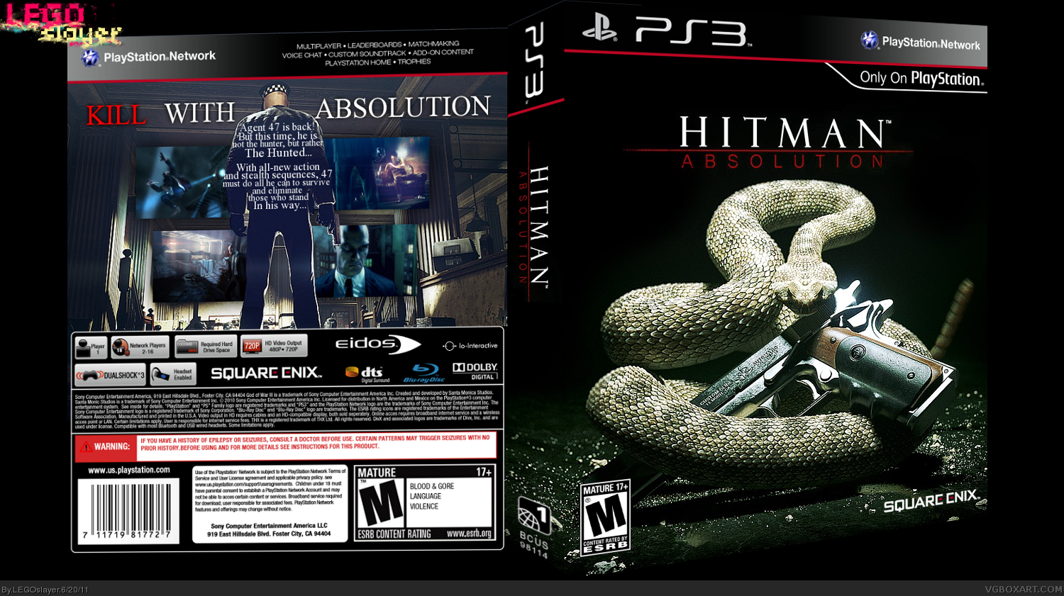 Hitman Absolution box cover
