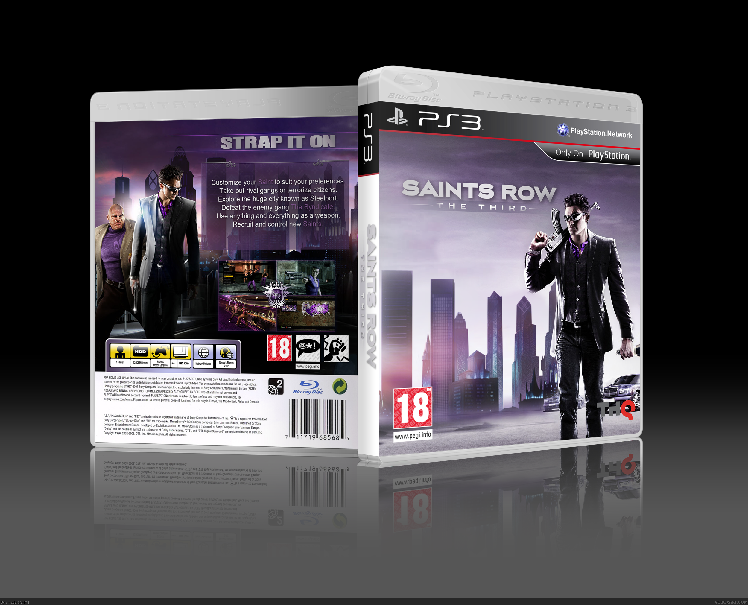 Saints Row: The Third box cover