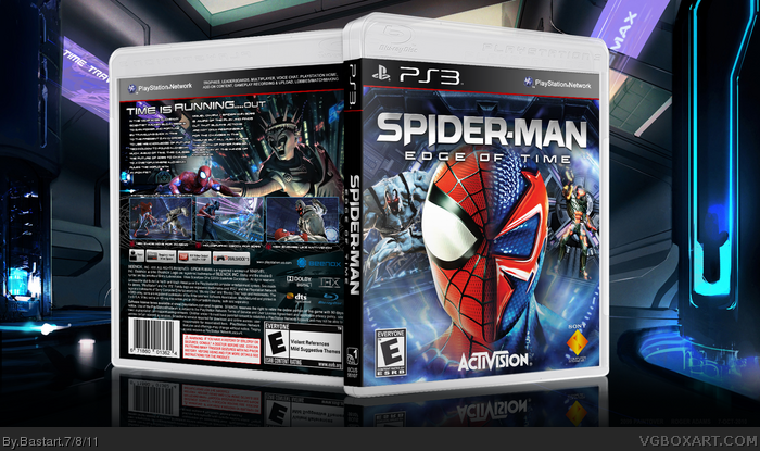 Spider-Man; Edge of Time box art cover