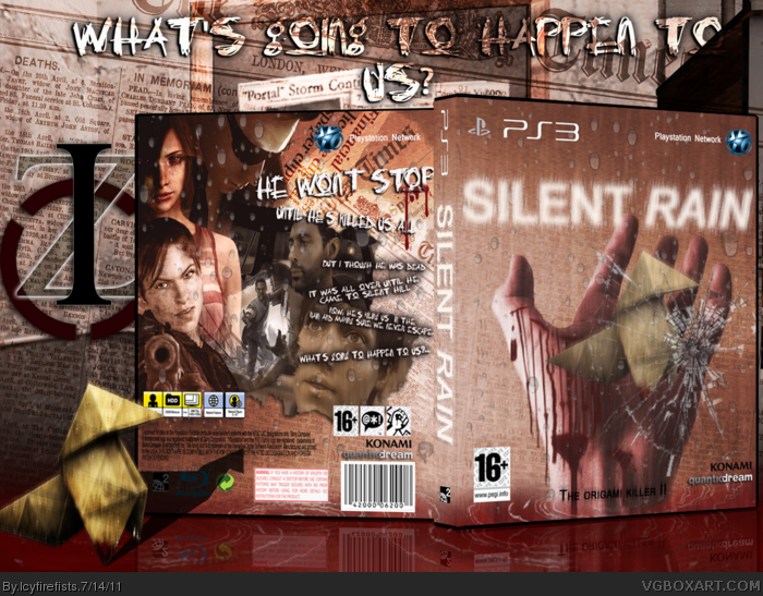 Silent Rain box art cover