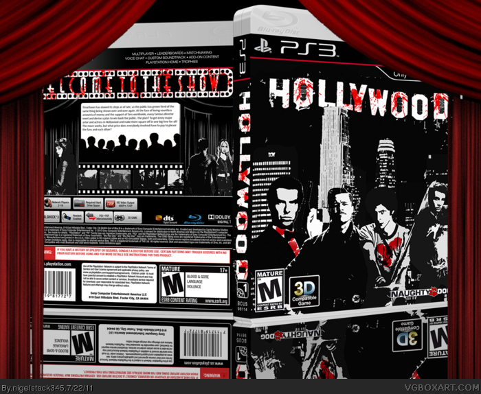 Hollywood box art cover