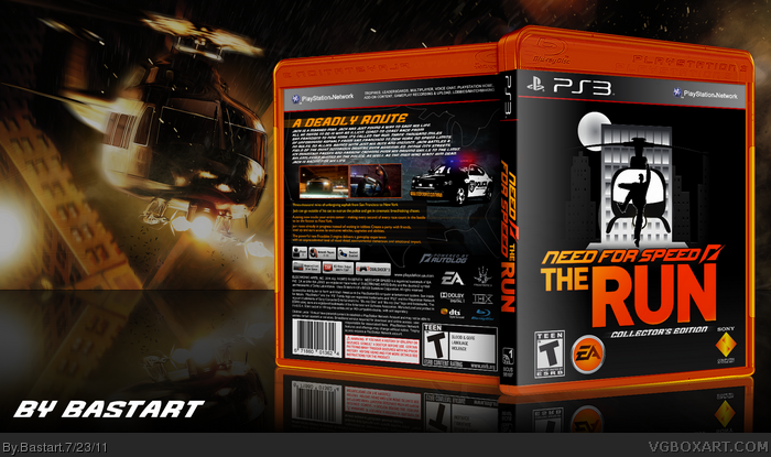 Need for Speed; The Run box art cover