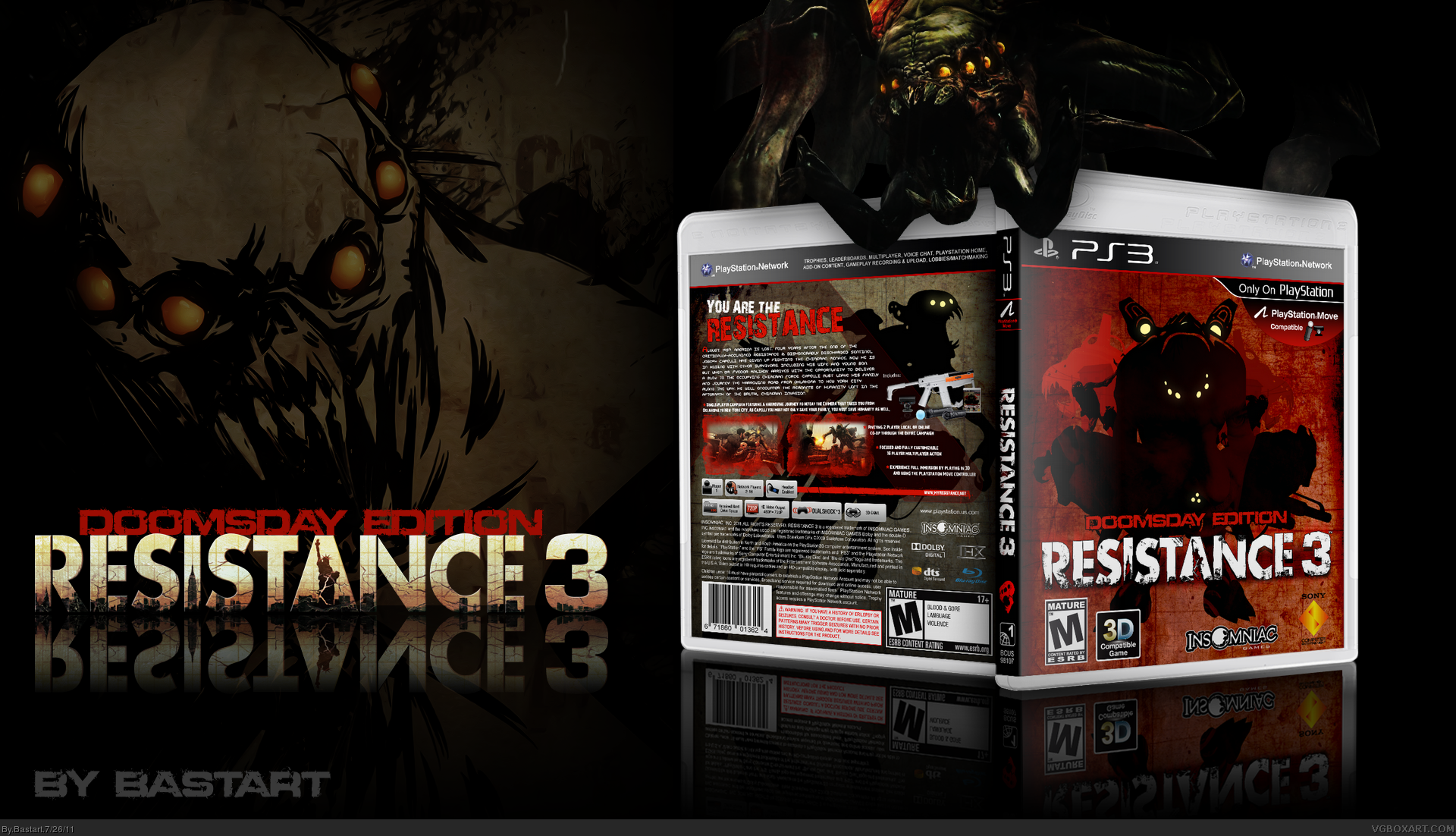 Resistance 3 box cover