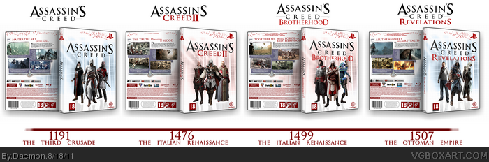 Assassin's Creed Collection box art cover