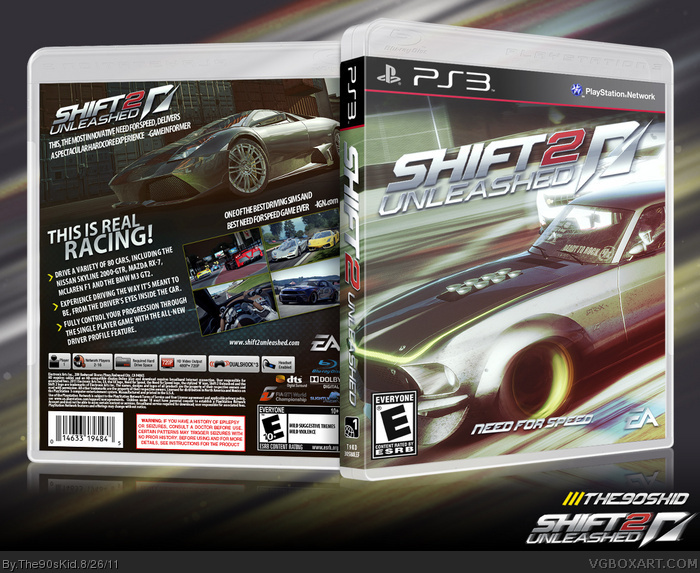Shift 2: Unleashed box art cover