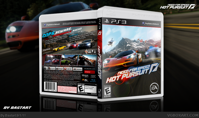 Need For Speed Hot Pursuit Playstation 3 Box Art Cover By Bastart