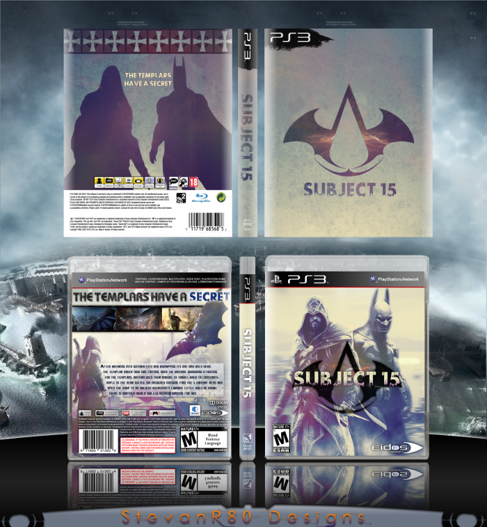 Subject 15 box art cover