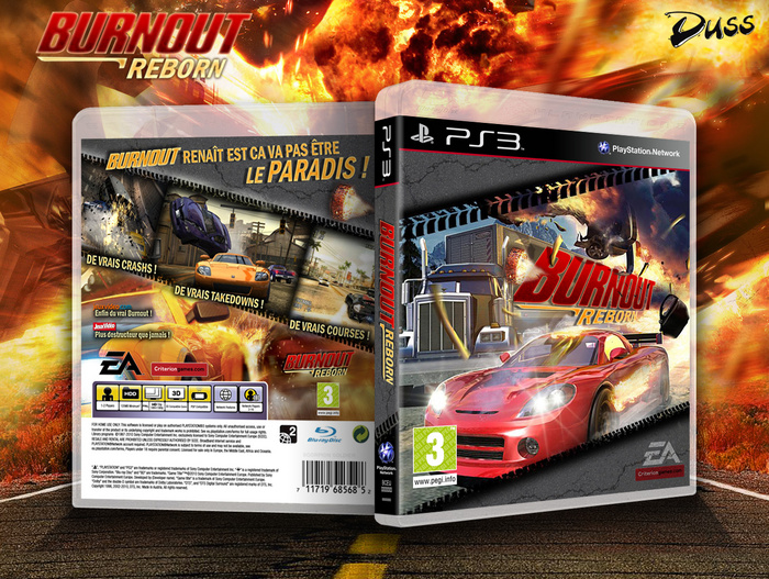 Burnout Reborn box art cover