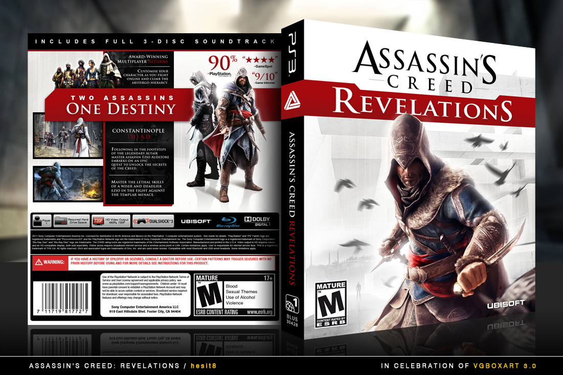 Assassin's Creed: Revelations box cover