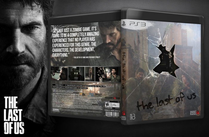The Last of Us box art cover