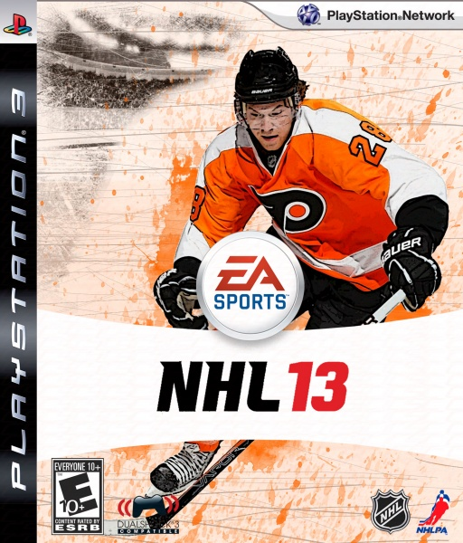 NHL 13 box art cover