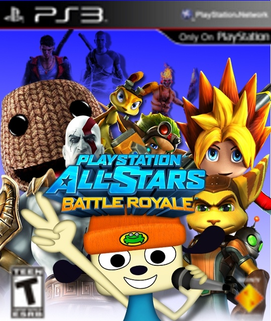 Playstation All Stars Battle Royale box cover