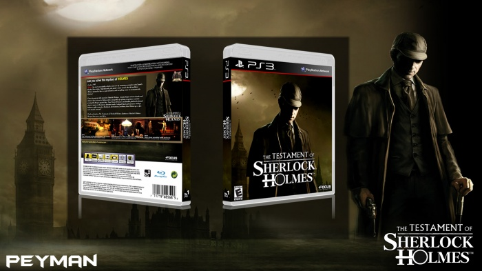 The Testament of Sherlock Holmes box art cover