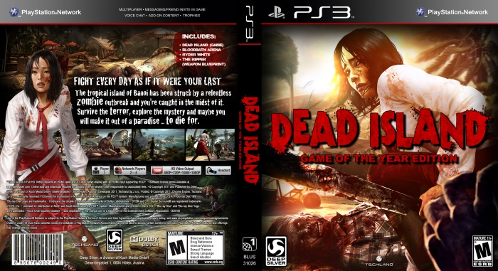 Dead Island: Game of the Year Edition box art cover