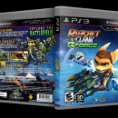 Ratchet & Clank: QForce Box Art Cover