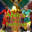 Africa Cup Of Nations 2013 Box Art Cover