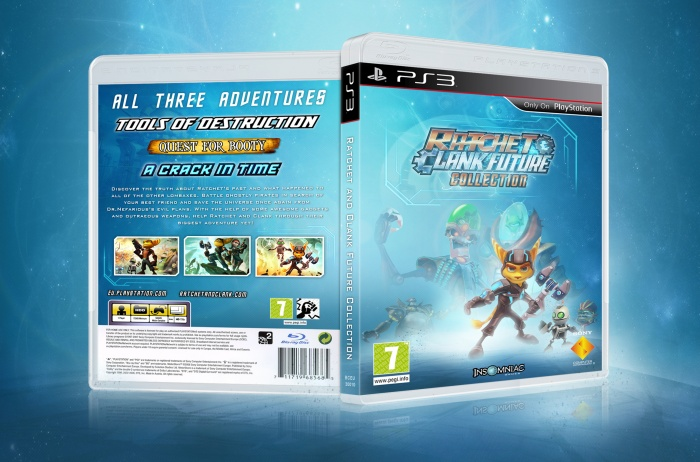 Ratchet and Clank Future Collection box art cover
