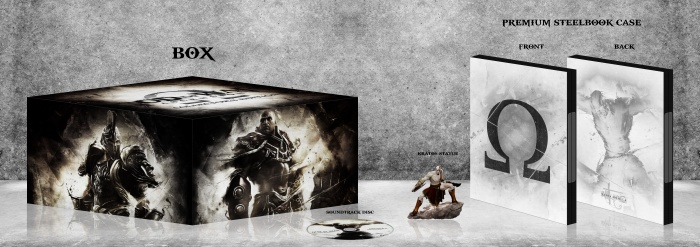 God of War: Ascension Collector's Edition box art cover