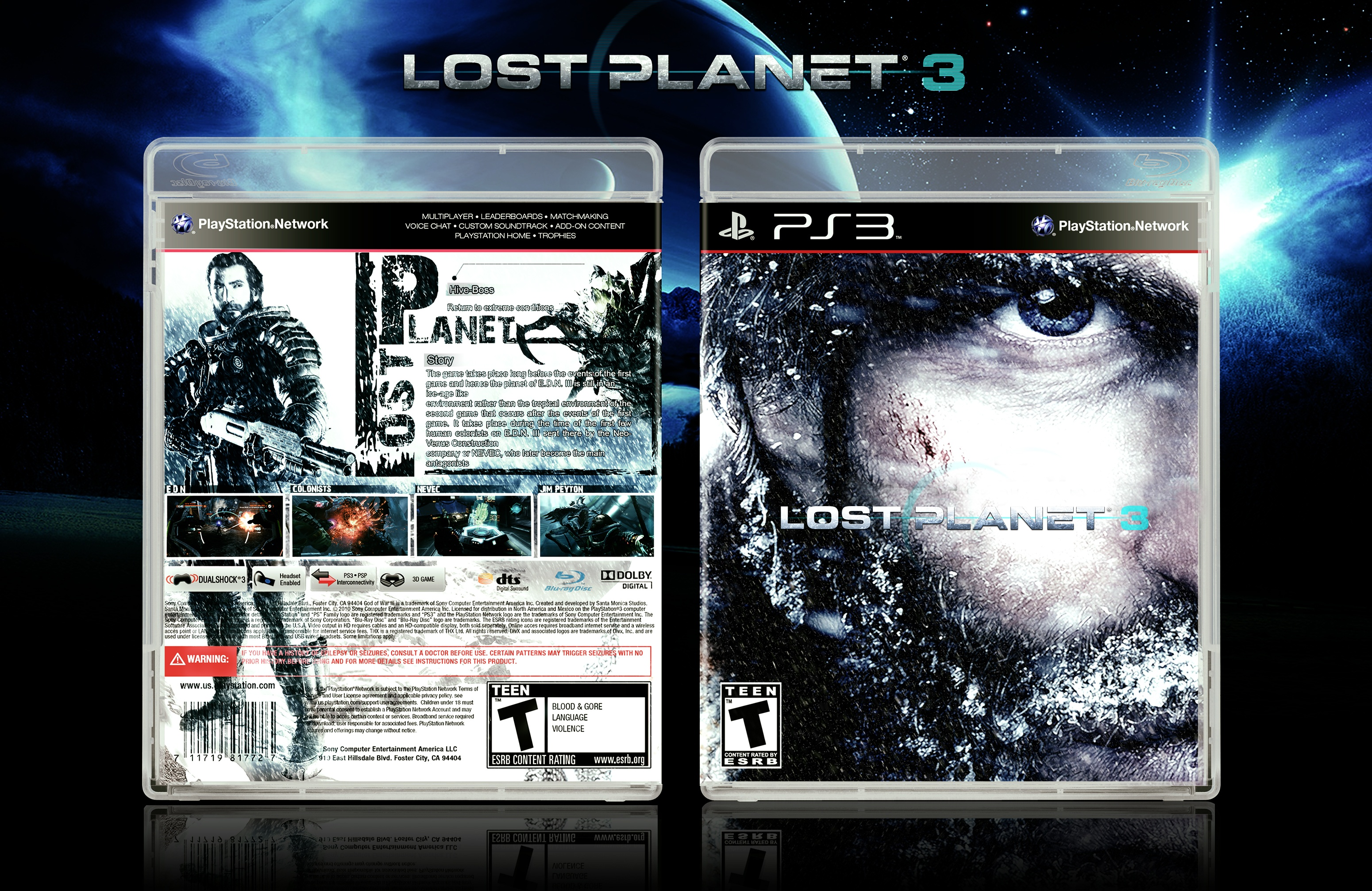 Lost Planet 3 box cover