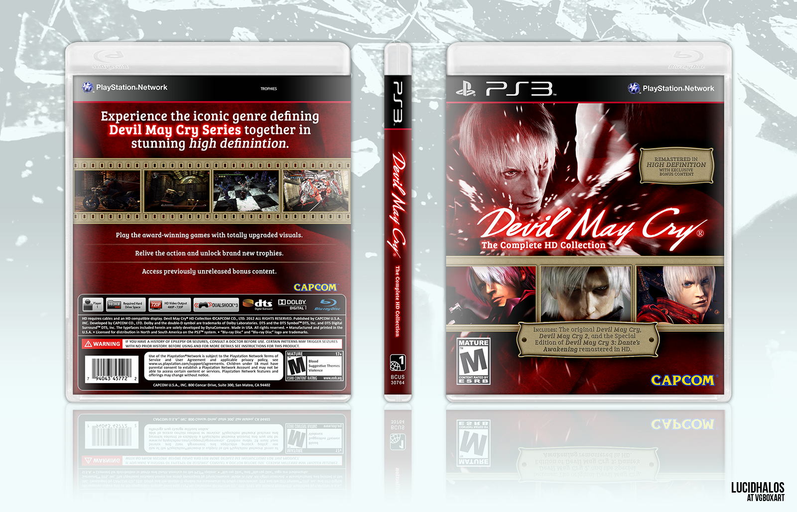 Devil May Cry Collection box cover