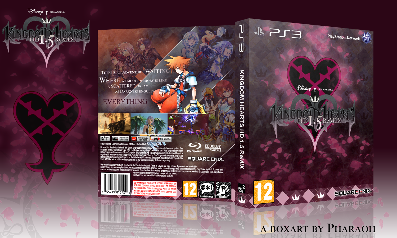 Kingdom Hearts HD 1.5 ReMIX box cover