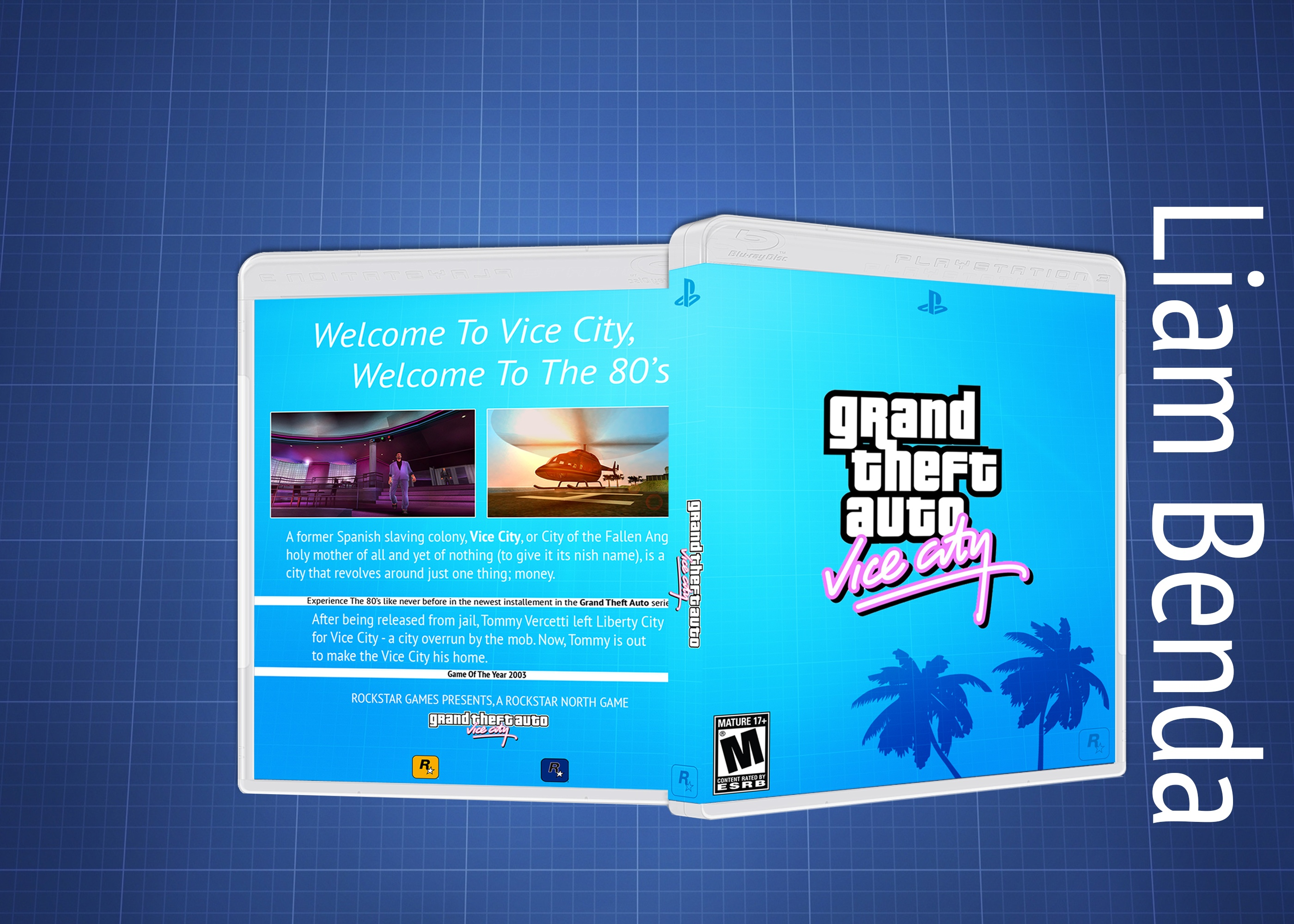 Grand Theft Auto Vice City box cover