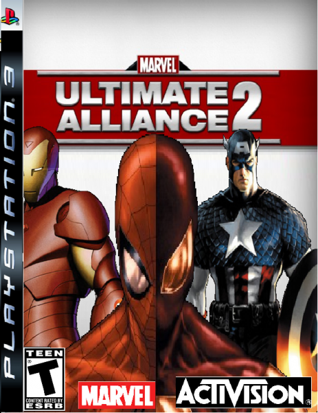 Marvel Ultimate Alliance 2 box cover