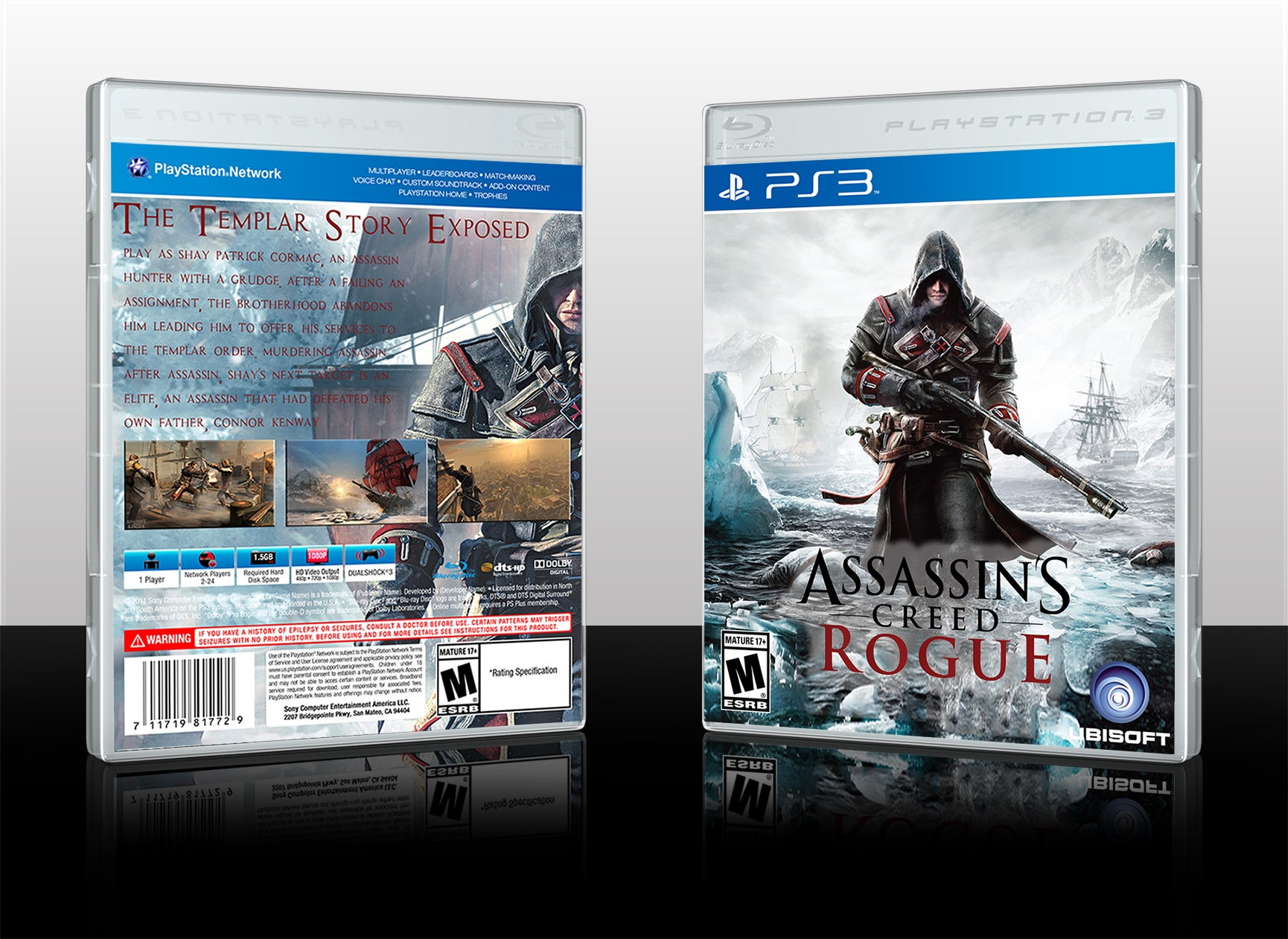 Assassin's Creed: Rogue box cover