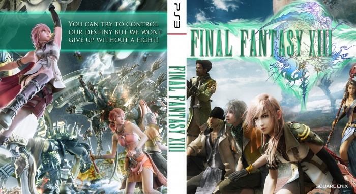 Final Fantasy XIII Cover box art cover