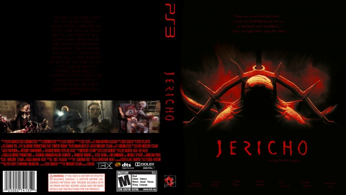 Clive Barker's Jericho box art cover
