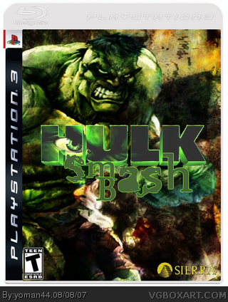 Hulk : Smash Bash box cover
