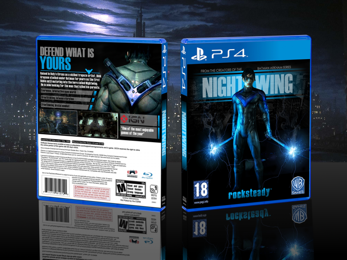 NightWing box art cover