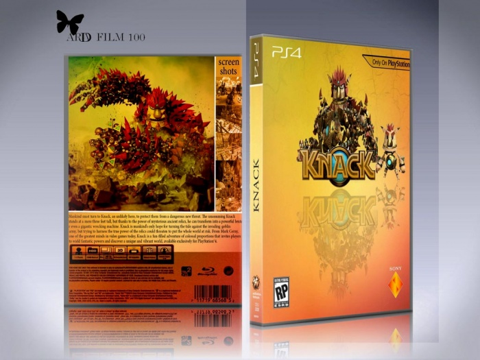KNACK box art cover
