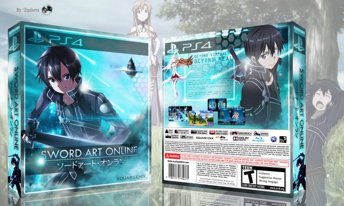 Sword Art Online box art cover