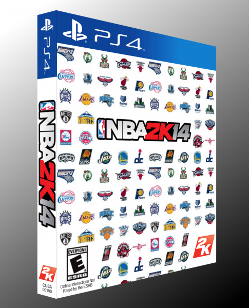 NBA 2K14 box art cover
