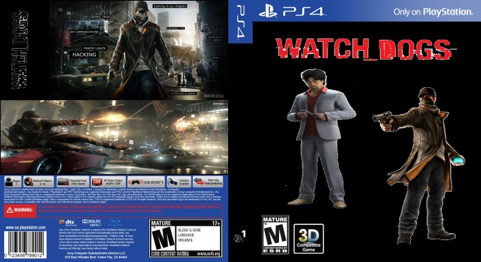 Watch Dogs Ugly Cover box art cover