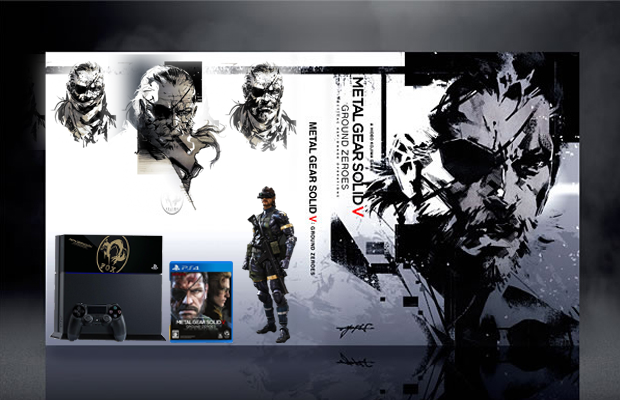 Metal Gear Solid V Ground Zeroes box cover