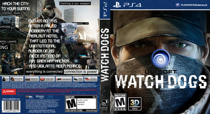 Watch Dogs Box Art box cover