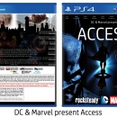 DC & Marvel present: Access Box Art Cover