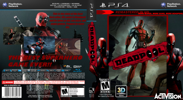 Deadpool HD: DP Edition box art cover