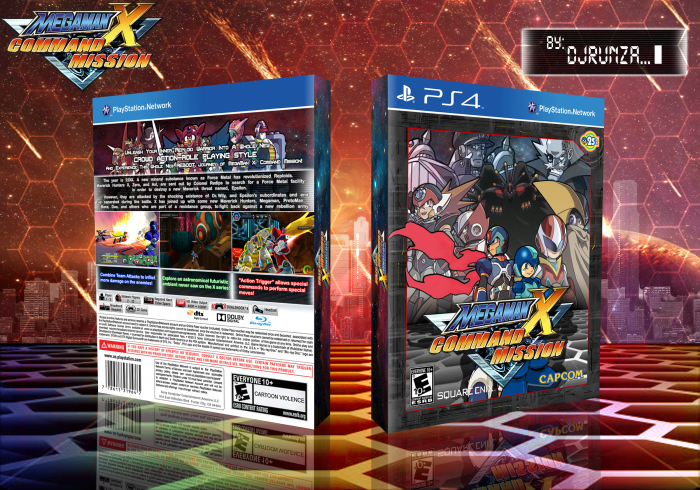 MegaMan X: Command Mission REBOOT box art cover