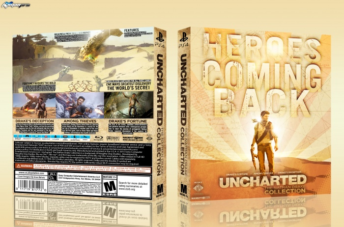 Uncharted:The Nathan Drake Collection box art cover