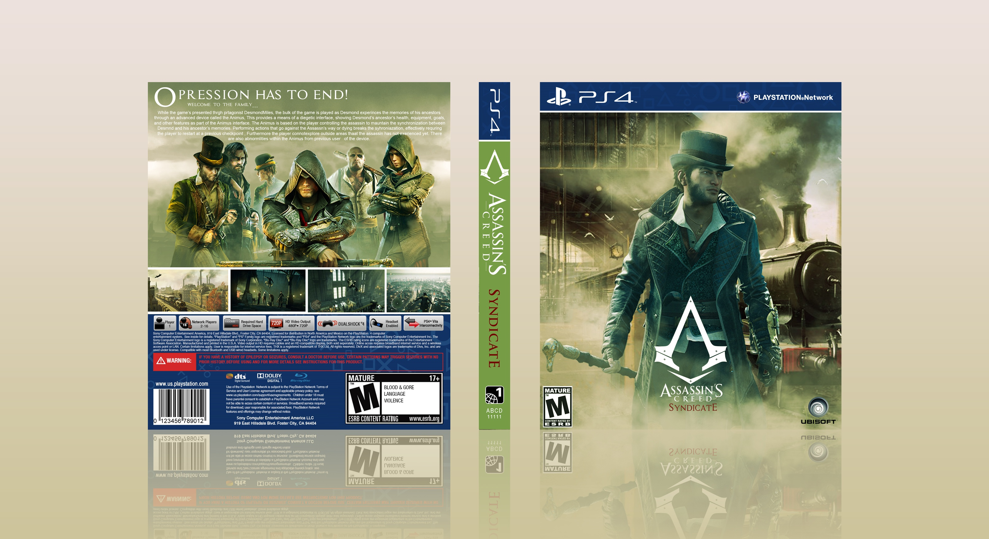 Assassin's Creed Syndicate box cover