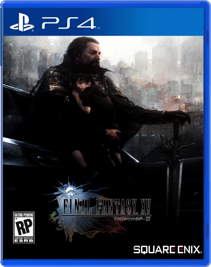 Final Fantasy XV - 2016 box art cover