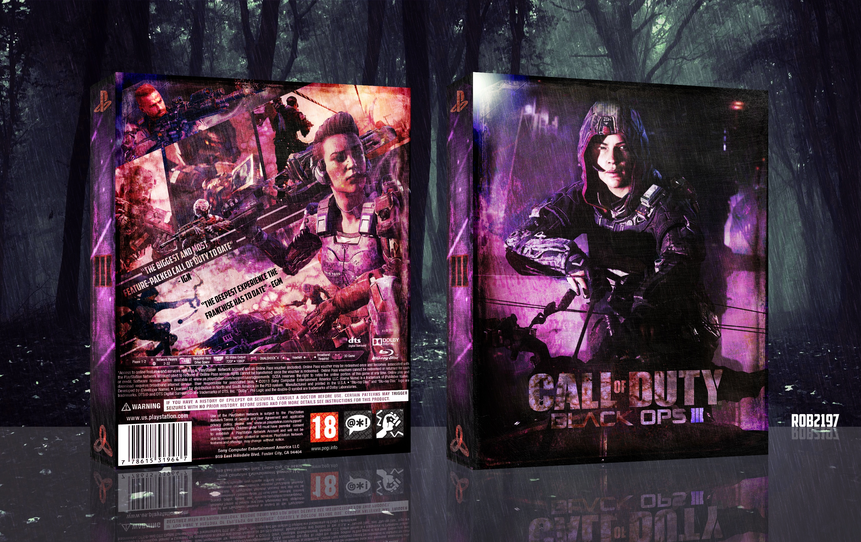 Call Of Duty - Black Ops 3 box cover