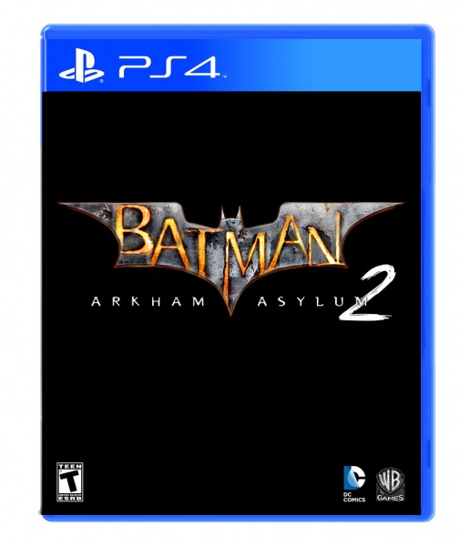 Batman: Arkham Asylum 2 PS4 Box Art box art cover