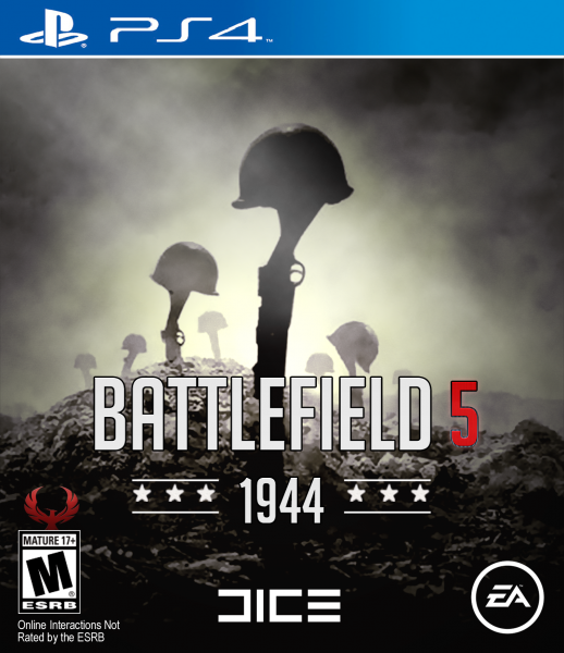 Battlefield 5 1944 box art cover