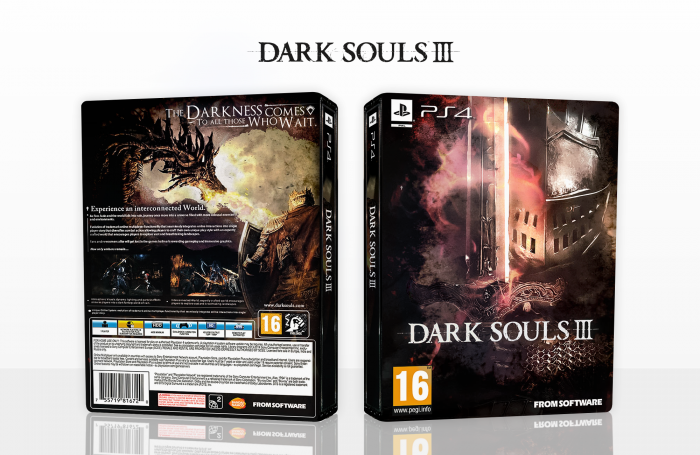 Dark Souls III box art cover
