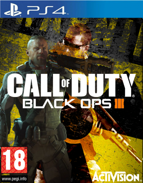 Call Of Duty - Black Ops 3 box art cover